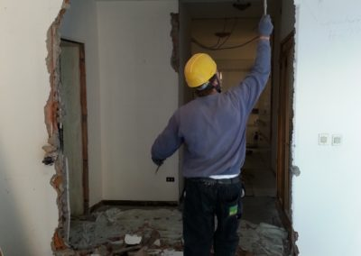 demolizione pareti interne