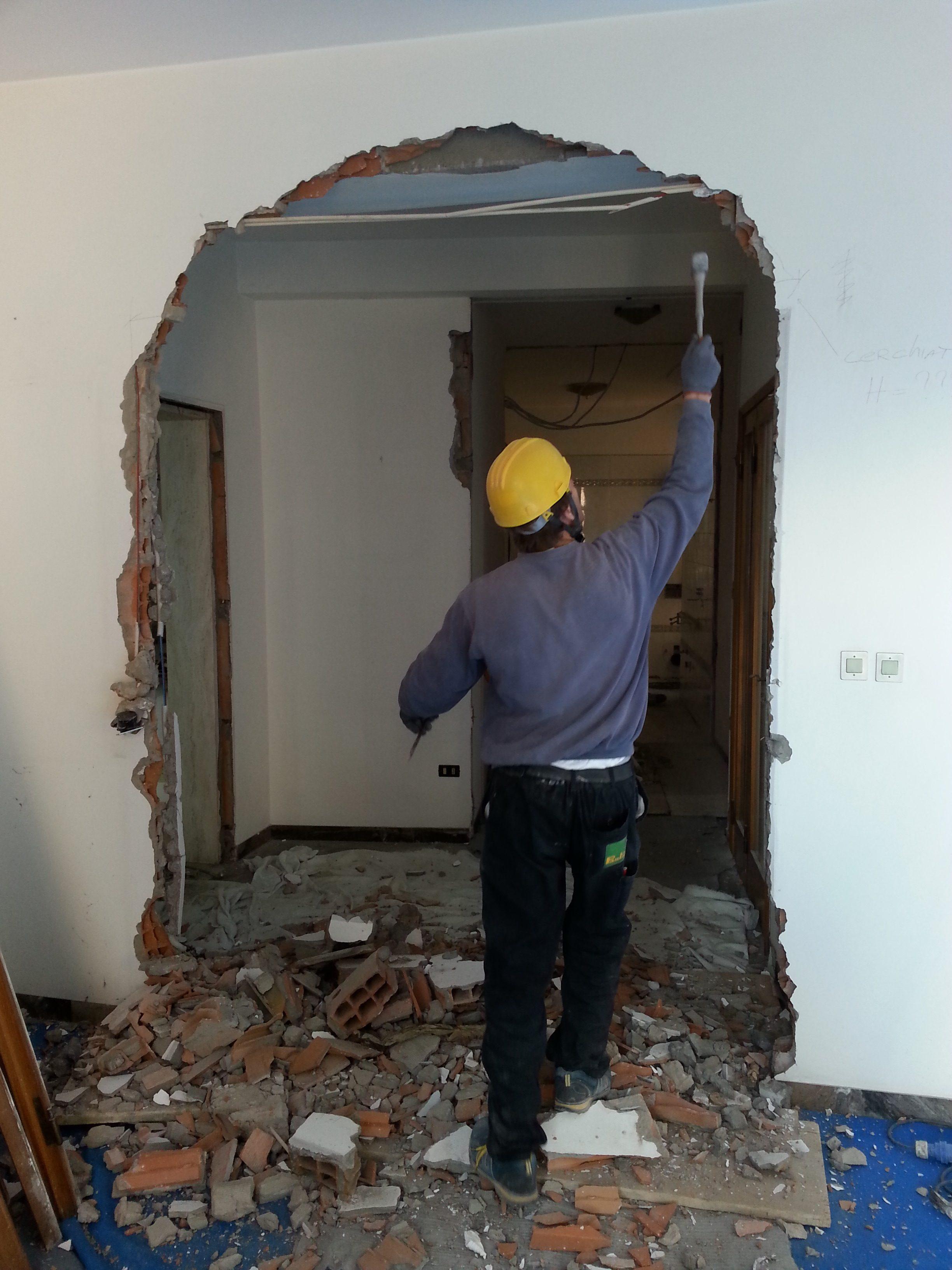 Pareti in muratura per interni pareti divisorie per - Finti camini decorativi ...