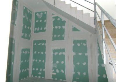 parete grezza in cartongesso