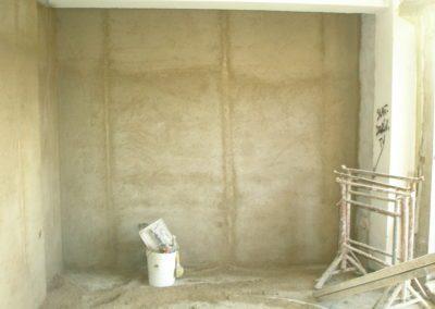 parete intonacata