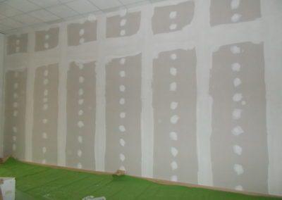 realizzazione di muro interno in cartongesso