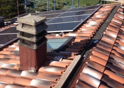 tetti con lucernai